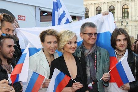 Venäjän euroviisuedustus. Kuva: Heidi Maijala, Stara