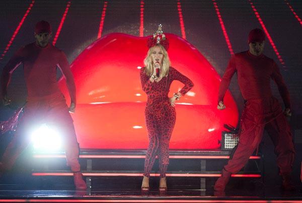 Kylie Minogue Pori Jazzeilla, Kuva: Pori Jazz