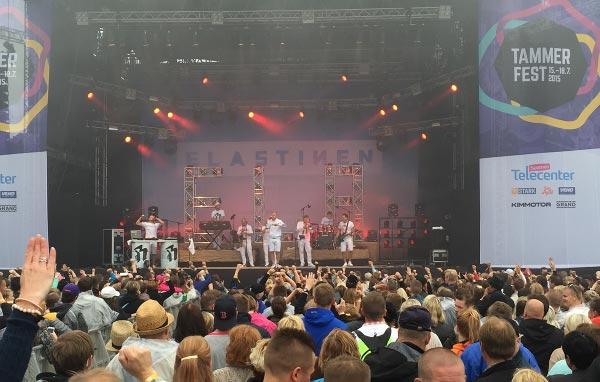 Tammerfest 2015, Elastinen Kuva: Annika Kela, Stara