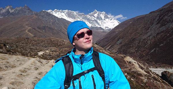 Sami Kieksi Mount Everestillä 4.500 metrissä