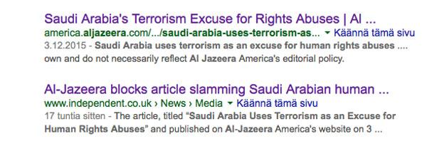 Al-Jazeera Googlessa