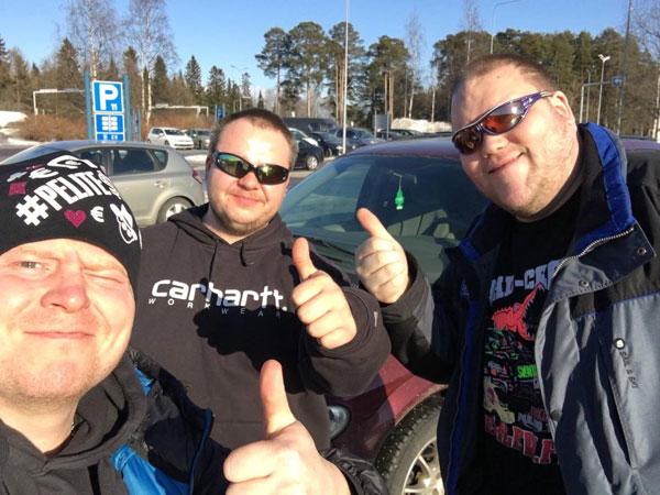 """Sampo Kaulanen: """"Iso kiitos näille miehille!"""""""