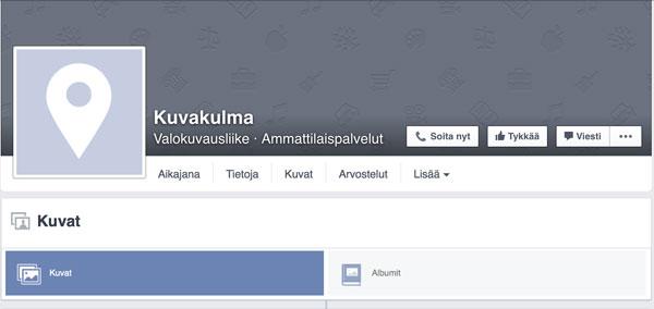 Studio-Timppa, Kuvakulma, Facebook