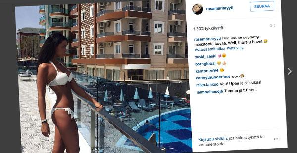 Rosa-Maria Ryyti, Instagram