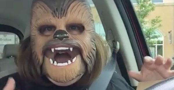 Chewbacca-äiti, Facebook