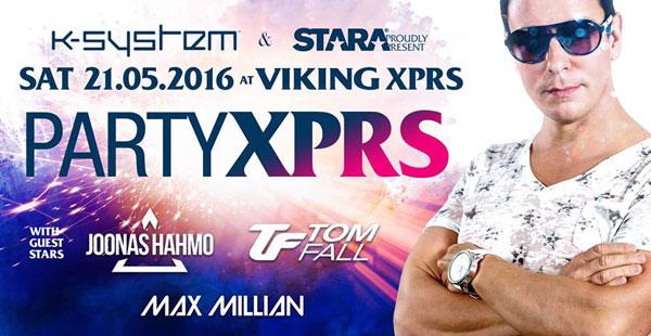 Stara & K-System presents Party XPRS.