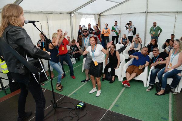Rollopop 2016, Anssi Kela esiintyi yksityiskeikalla Stara VIP -asiakkaille