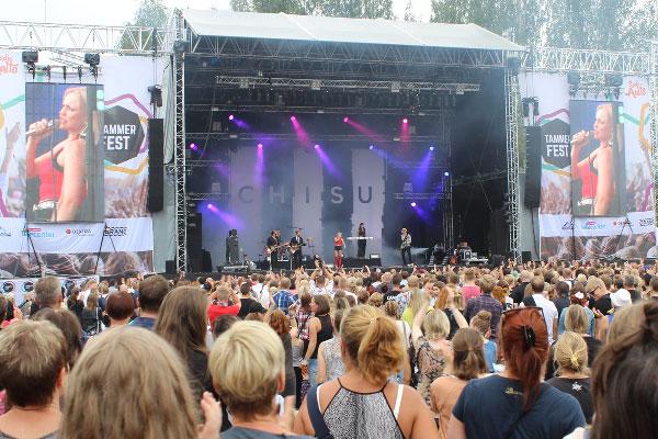 Tammerfest 2016, Chisu, Kuva: Stara