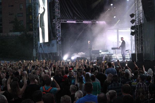 Tammerfest 2016, Hurts, Kuva: Stara