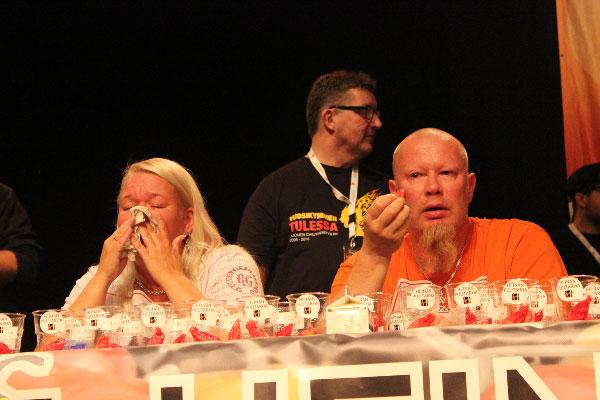 Chilifest 2016, Chilinsyönnin MM-kilpailu