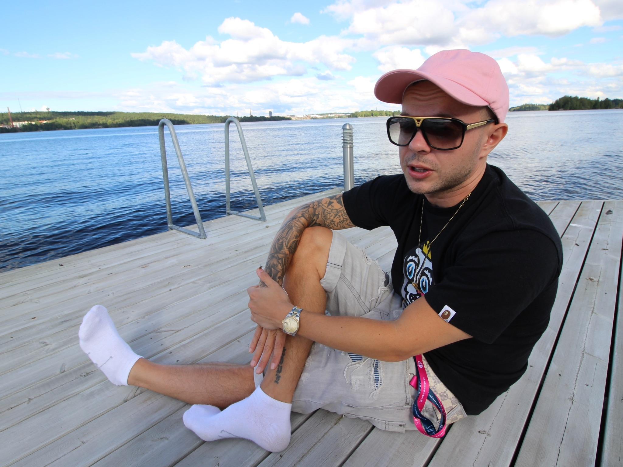 Uniikki Staran haastattelussa Blockfesteillä.