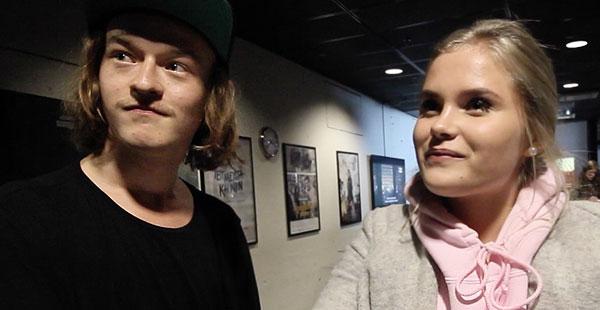 Bodom-tähdet Santeri Helinheimo Mäntylä ja Nelly Hirst-Gee Staran haastattelussa.