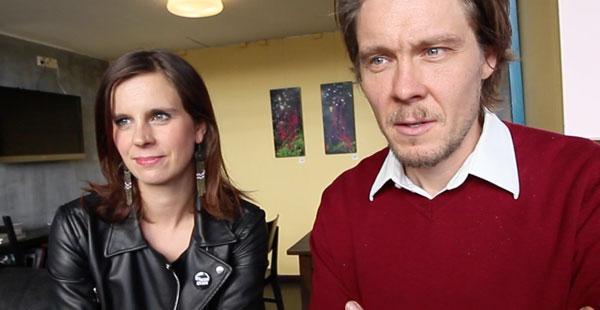 Olga ja Tuukka Temonen Staran haastattelussa.
