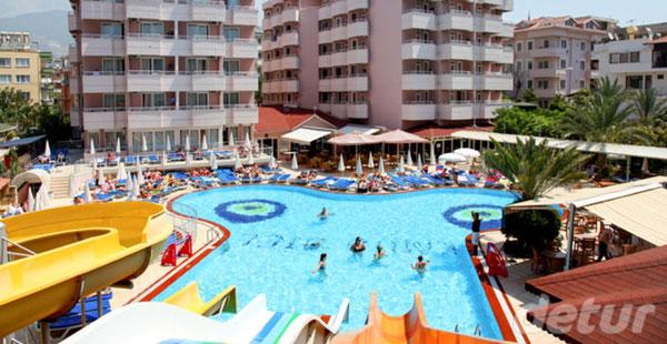 Detur, Kahya Hotel Beach