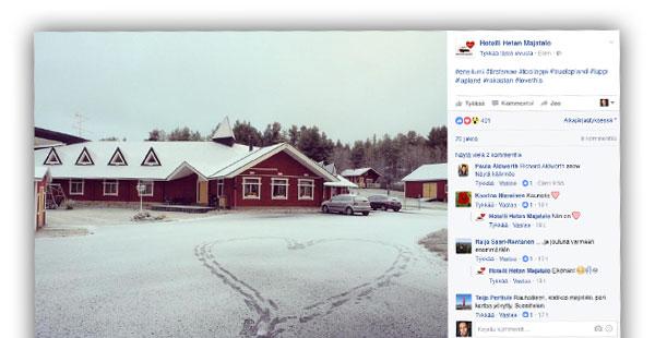 Facebook, Hotelli Hetan Majatalo