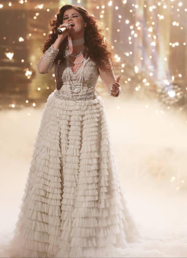 Saara Aalto esiintyi X Factorissa 19.11.2016, Kuva: Splash