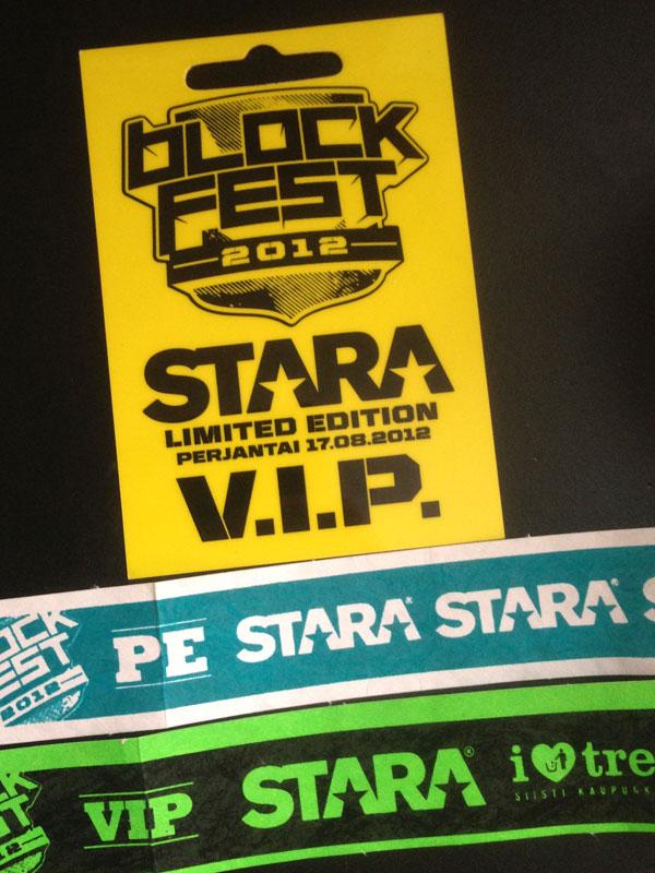 Blockfest Vip