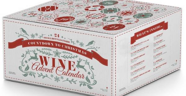 joulukalenteri 2018 kauneus Joulukalenteri aikuiseen makuun – luukkujen takana viinipulloja  joulukalenteri 2018 kauneus